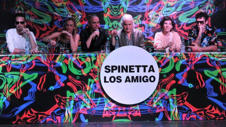 Presentaron Los amigo, el disco inédito de Luis Alberto Spinetta