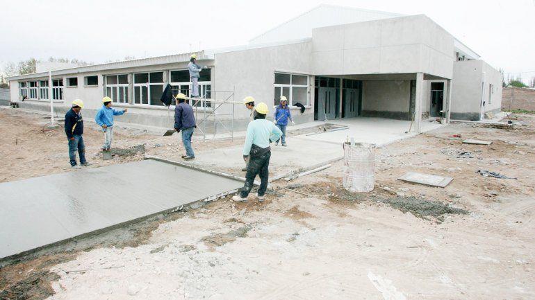 La Escuela 358 estaría finalizada para febrero del 2016.
