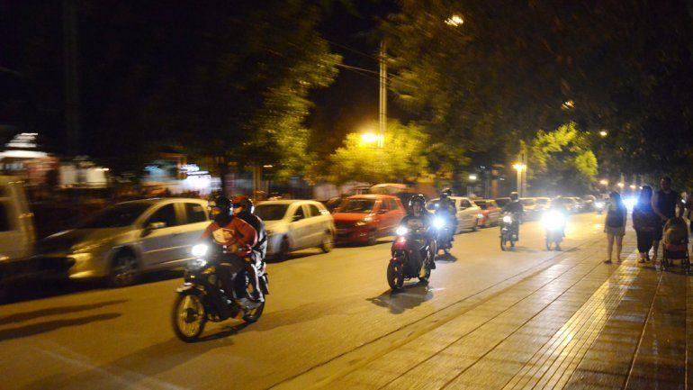 La calle Olascoaga es muy transitada cuando llega el verano.