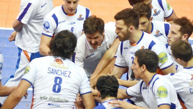 Camilo Soto quiere a su equipo con máxima concentración.