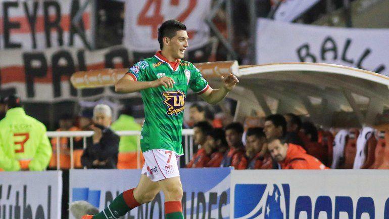 En la ida ganó Huracán con el gol de Espinoza (foto). ¿Podrá darlo vueltael Millo con una manito de Francisco?