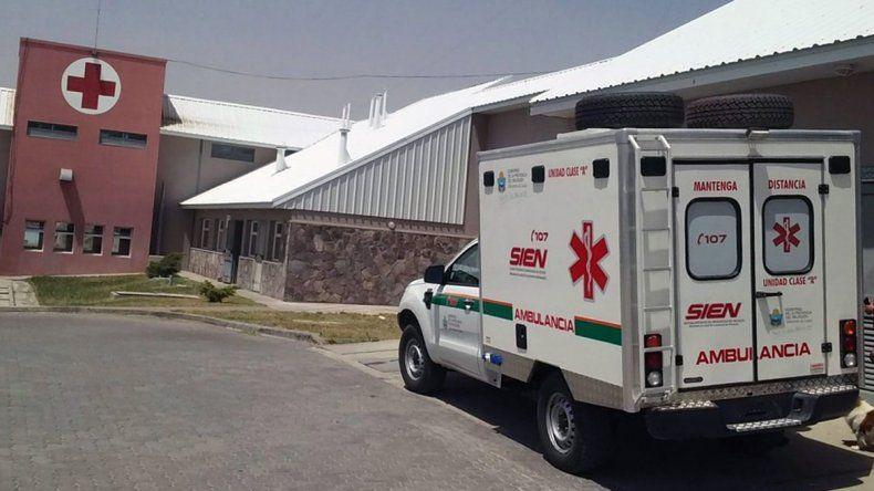El SIEN en el hospital de Piedra del Águila.