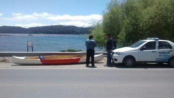 Buceaba en el lago Nahuel Huapi