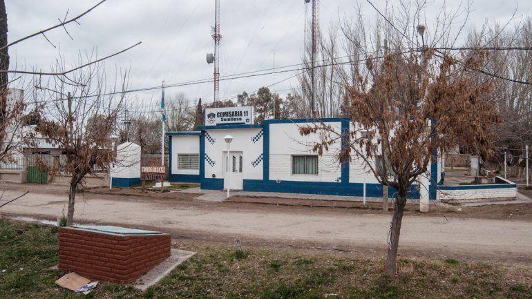En la Comisaría 11 de Senillosa quedó detenido unas horas el agresor