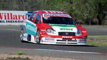 Manu ocupa la tercera posición. Hoy se corre en Alta Gracia, Córdoba.