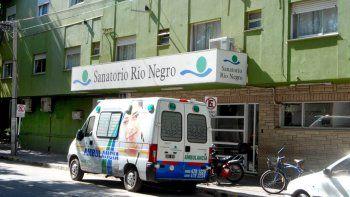 En el Sanatorio Río Negro la beba fue asistida y estabilizada.