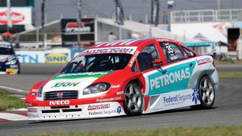 El Fiat de José Manuel Urcera.