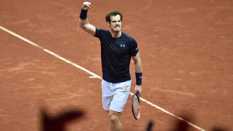 De la mano de Andy Murray