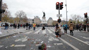 La Policía reprimió una protesta por la cumbre del cambio climático