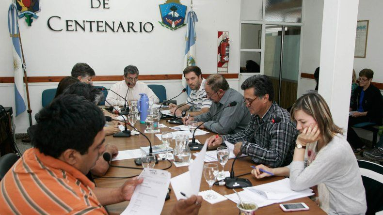 El Deliberante en Centenario estuvo parado varios días por el conflicto.