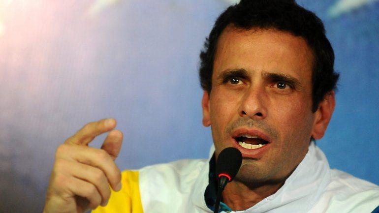 Capriles: Venezuela es una bomba que puede explotar
