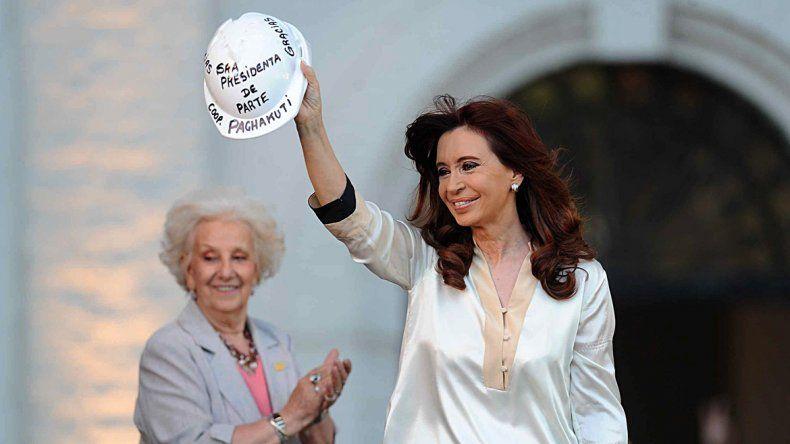 Cristina pidió una Argentina sin censuras