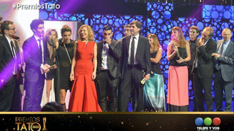 Historia de un Clan arrasó en los Premios Tato
