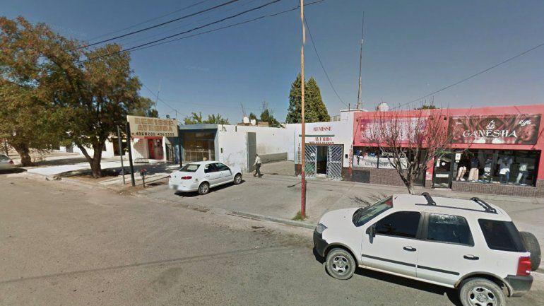 Base de la empresa de remise Avenida en Cutral Co.