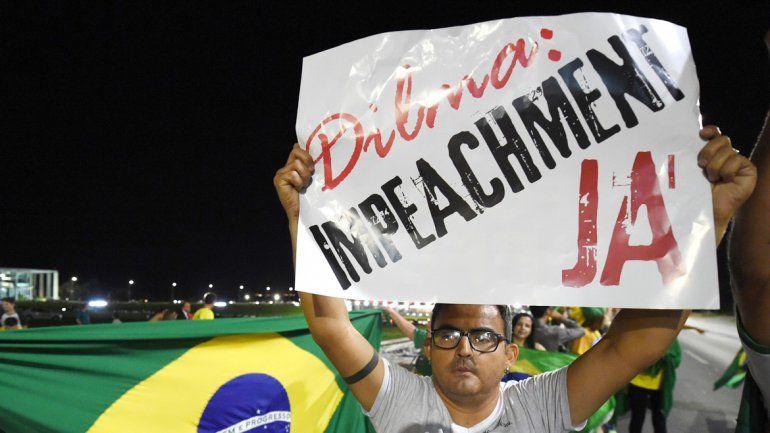 Una movilización contra Dilma Rousseff en San Pablo