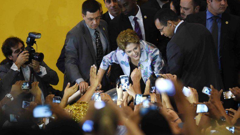 La presidenta de Brasil