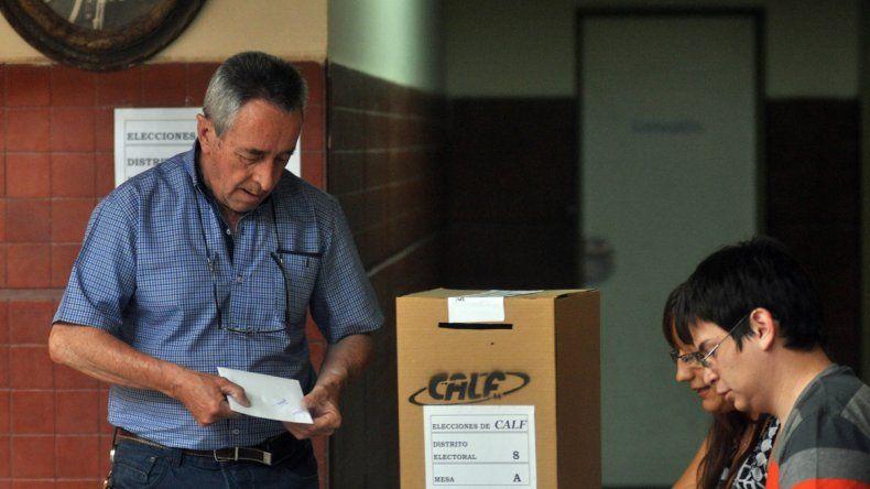 La lista Celeste y Blanca se impone en las elecciones de CALF