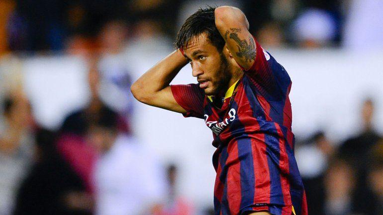 Neymar se podría perder la Copa América Centenario