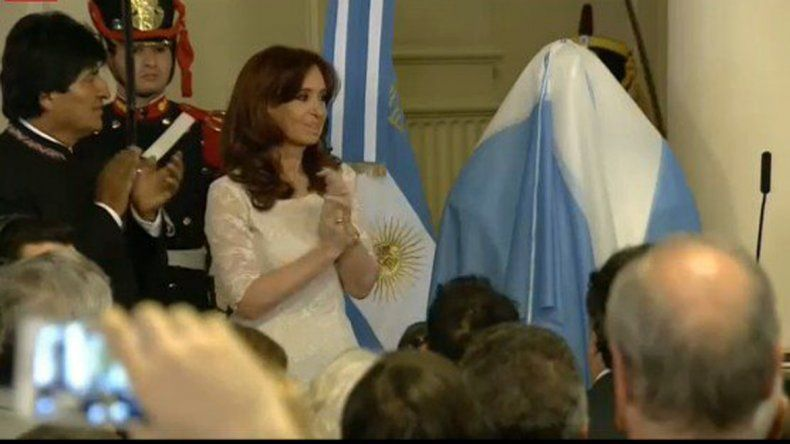 Cristina: Los llevo en el corazón y sepan que siempre voy a estar junto a ustedes
