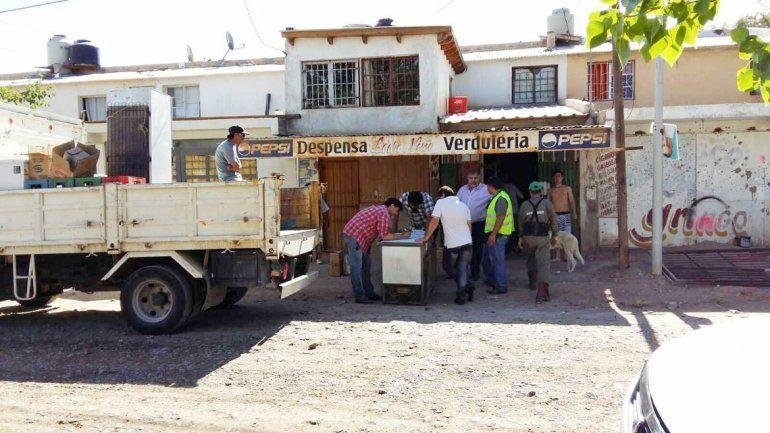 En el barrio San Lorenzo también se detectaron dos viviendas en las que se vendía alcohol de manera ilegal y bajo cuerda.