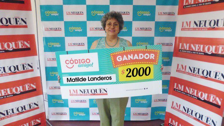 Matilde Landeros.
