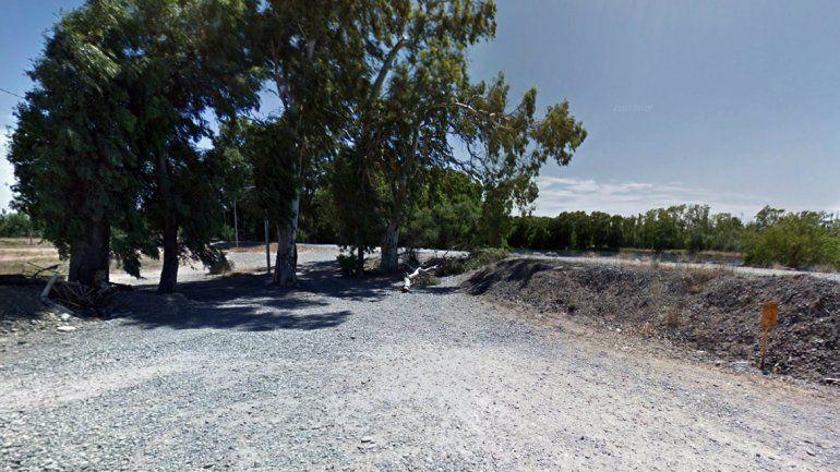 Costa del río Neuquén en el barrio Rincón de Emilio.