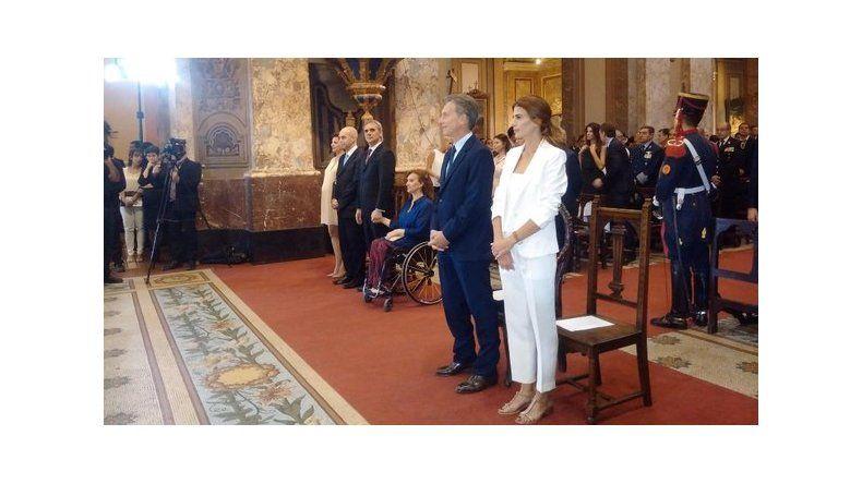 Macri participó del Tedeum junto a su gabinete