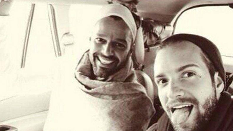 De paseo. Ricky y Pablo se fueron de vacaciones a la India después de grabar