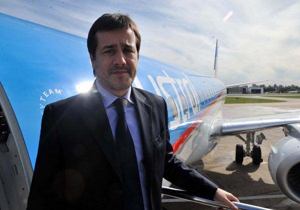 Recalde dijo que es compleja la situación que atraviesa Aerolíneas Argentinas
