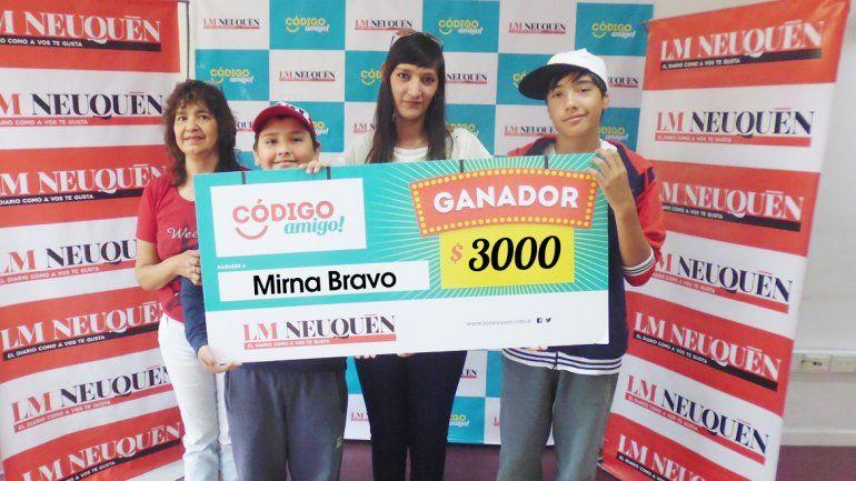 Mirna Bravo.