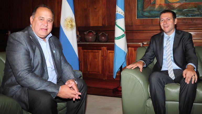 Omar Gutiérrez se reunió intendentes