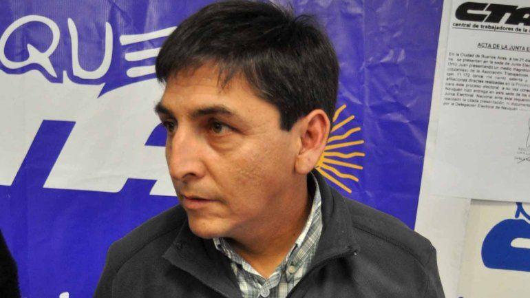 Quintriqueo dijo que el gobierno le planteó que hay una crisis financiera.