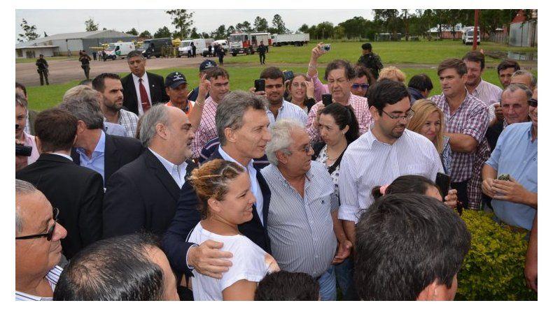 Macri prometió poner de pie al Valle de Río Negro