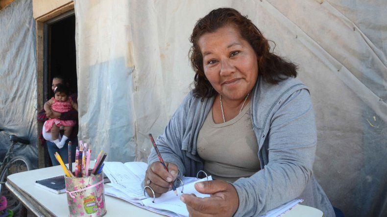 María Luisa terminó la primaria en el Centro de Educación para Adultos 145