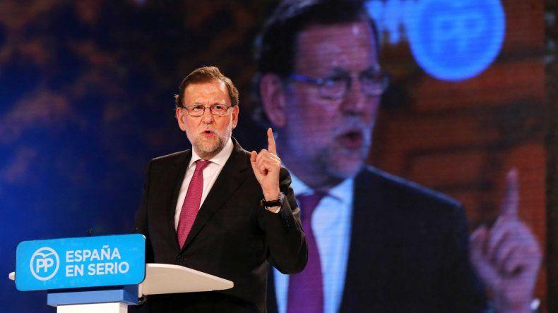 Los cuatro candidatos que van por la victoria: Mariano Rajoy