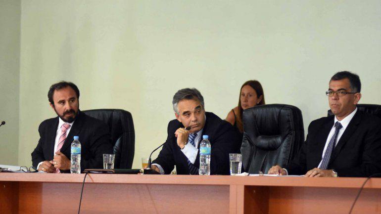 El tribunal está conformado por los jueces Alejandro Silva