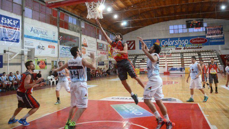 Matías Barberis aportó puntos claves en el alargue.