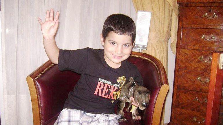 Facundo Serrato tenía 5 años cuando fue atropellado. Iba con su mamá y su hermanita en el barrio de Palermo.