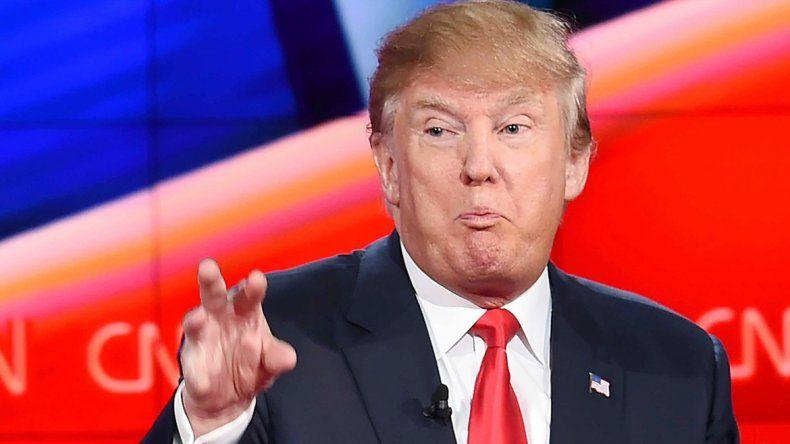 Donald Trump hace de los insultos su principal herramienta de campaña.