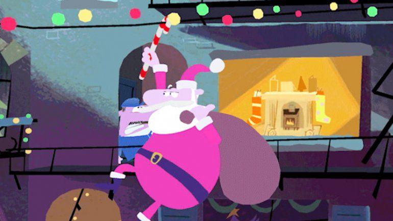 La animación fue realizada porTim Ruffle