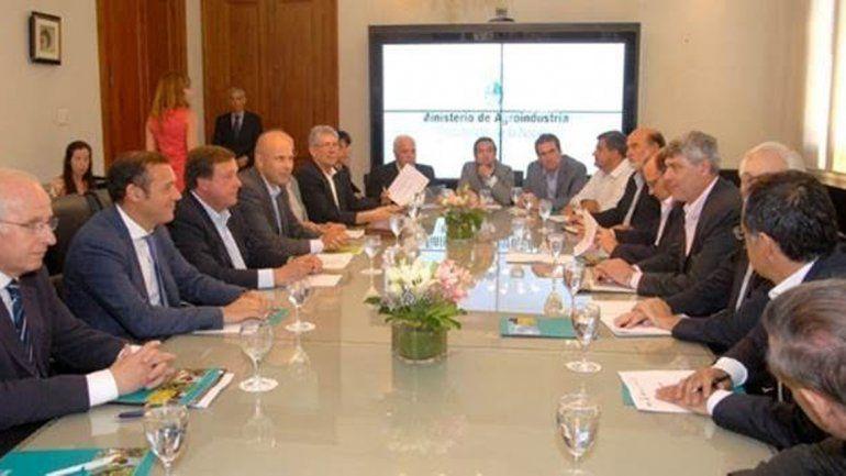 Gutiérrez y Brillo se reunieron con el ministro de Agroindustria