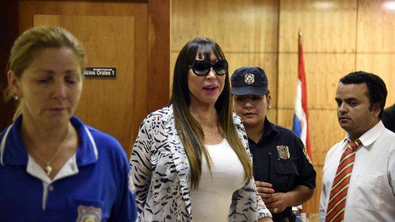 Moria Casán quedó libre y esta noche saldría de Paraguay