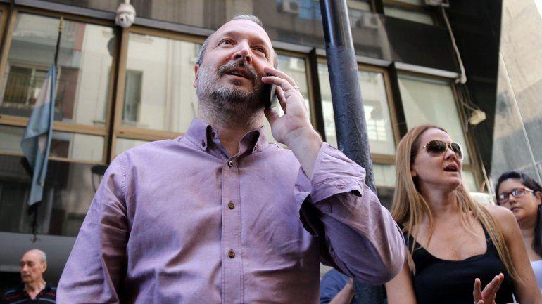 Con críticas al juez, Sabbatella abandonó la AFSCA