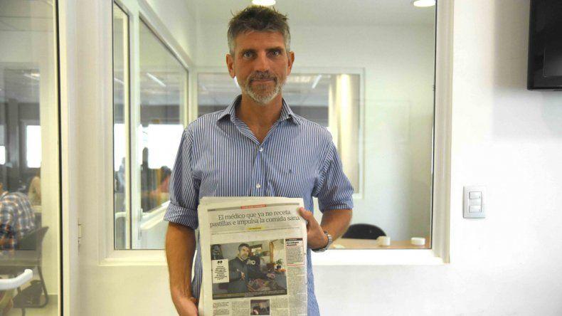 Una entrevista a Delupi hizo estallar las redes sociales de LM Neuquén.
