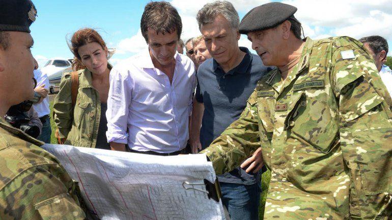 Macri prometió soluciones definitivas en Concordia