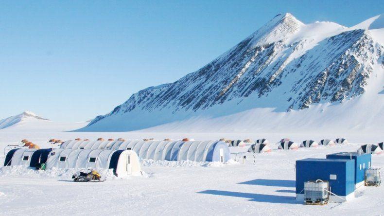 El glaciar Unión parece encerrar un gran hallazgo para la medicina.