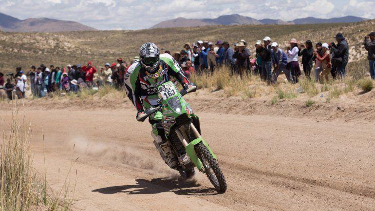 La nueva moto del neuquino es una Yamaha preparada para la competencia por el equipo JVO.