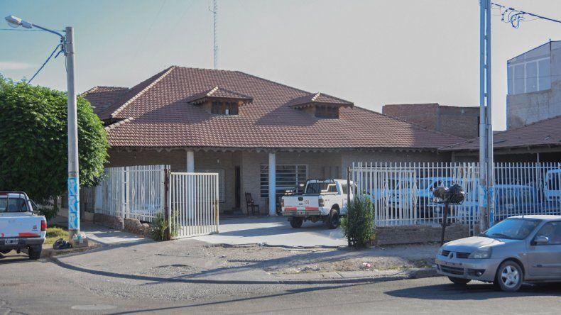 La casa de Villa Florencia en la que se encontró la camioneta por los datos aportados por un vecino de la abuela.