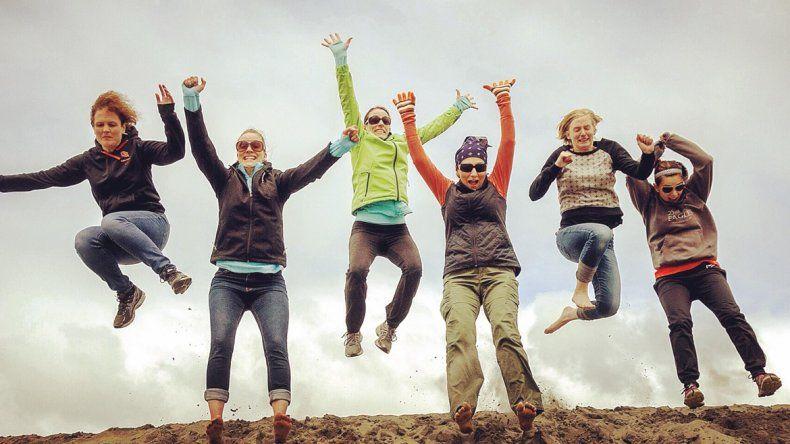 Mujeres Viajeras organiza reuniones y salidas grupales en todo el país.