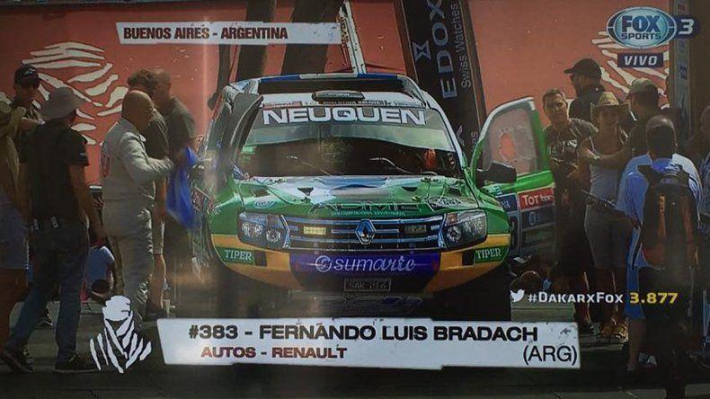 Fernando Bradach se quedó sin Dakar.